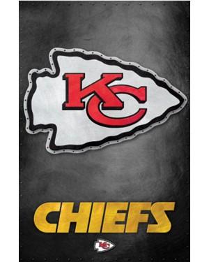 Kansas City Chiefs Logo Poster