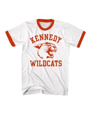 Kennedy Wildcats Mens Ringer T-Shirt
