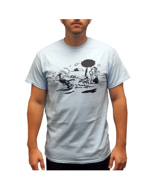 Krazy Kat Pow Zip Cartoon T-Shirt