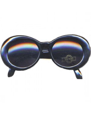 Kurt Cobain Black Round Sunglasses