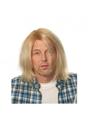 Kurt Cobain Grunge Blonde Wig