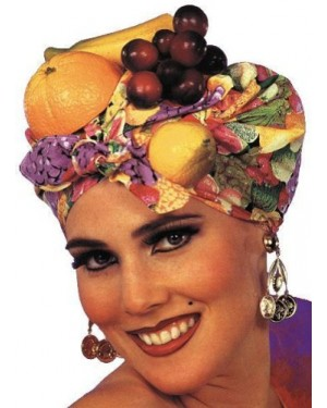 Latin Fruit Hat