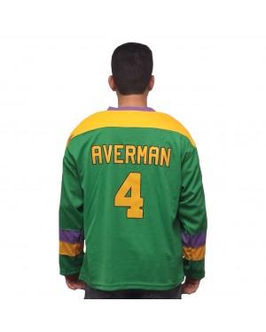 Les Averman #4 Ducks Hockey Jersey