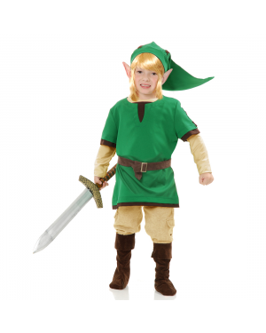 Link Elf Warrior Boys Costume