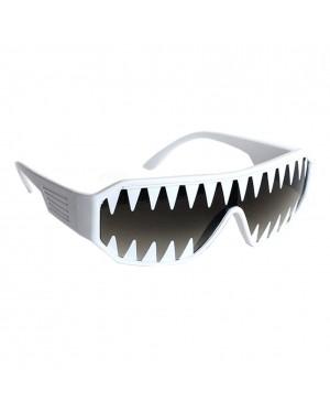 Macho Wrestler Mini Shark Teeth Shield Sunglasses