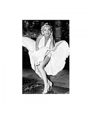 Marilyn Monroe Dress Poster