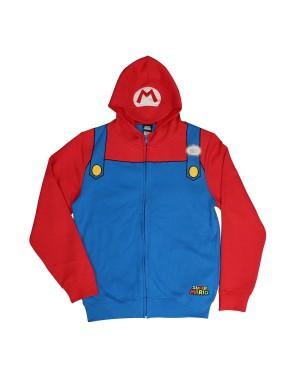 Mario Super Mario Brothers Hoodie Costume