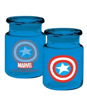 Marvel Captain America Logo Apothecary Jar