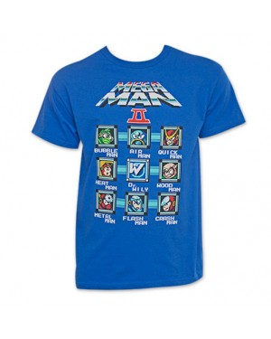 Mega Man Characters T-Shirt