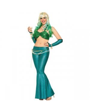 Blue Mermaid Fin Leggings
