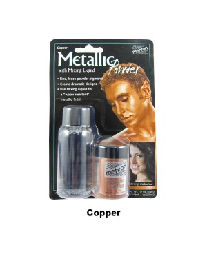 Copper Mehron Metallic Powder with Mixing Liquid