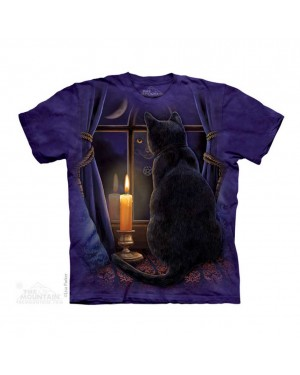Midnight Vigil Adult T-shirt