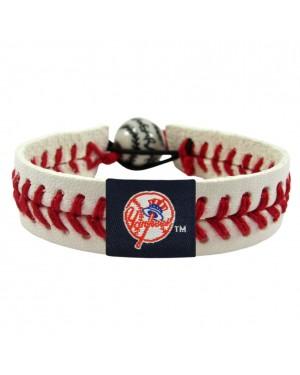 New York Yankees Script Logo Classic Baseball Bracelet
