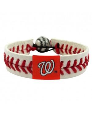 Washington Nationals Classic Baseball Bracelet