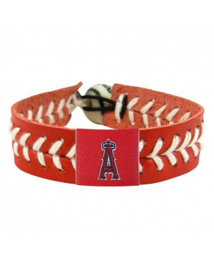 Los Angeles Angels Team Color Baseball Bracelet