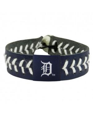 Detroit Tigers Team Color Baseball Bracelet