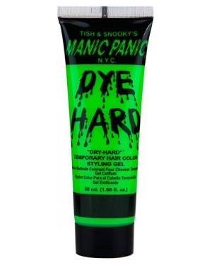 Electric Lizard Green Dye Hard Manic Panic Styling Gel 1.66 oz.