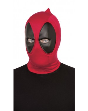 Deadpool Deluxe Adult Fabric Overhead Mask