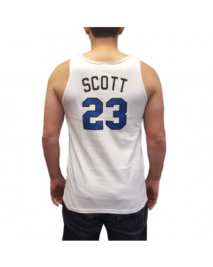 Nathan Scott #23 White Tank Top