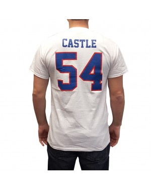 Thad Castle #54 White Jersey T-Shirt