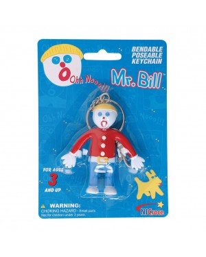 Mr. Bill Bendable Key Chain