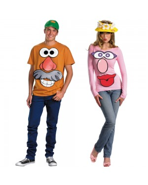 Mr. and/or Mrs. Potato Head Costume Kit