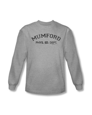 Beverly Hills Cop Mumford Phys. Ed. Dept. Long Sleeve Shirt