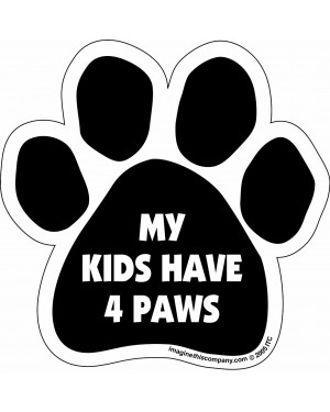 My Kids Have 4 Paws Paw Magnet