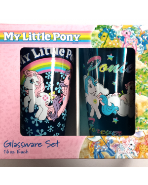 My Little Pony 2-Pack Pint Glasses