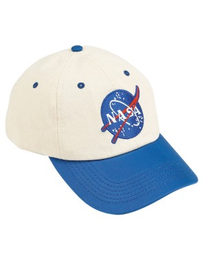 NASA Blue And Off White Child Hat