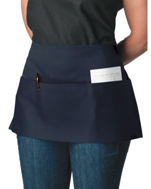 Navy Blue Waitress Apron