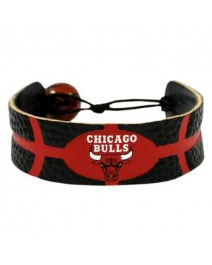 Chicago Bulls Team Color Basketball Bracelet