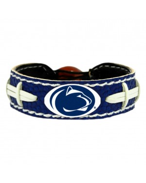 Penn State Nittany Lions Team Color Football Bracelet