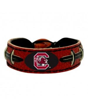 South Carolina Gamecocks Team Color Football Bracelet