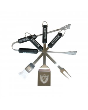 Oakland Raiders BBQ Set