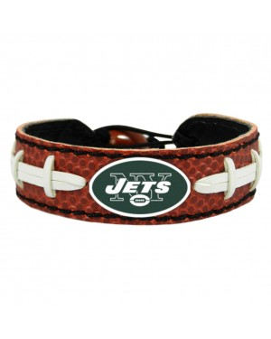 New York Jets Classic Football Bracelet