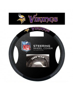Minnesota Vikings Steering Wheel Cover