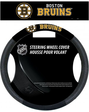 Boston Bruins Steering Wheel Cover
