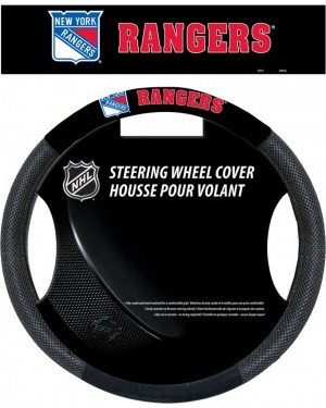 New York Rangers Steering Wheel Cover