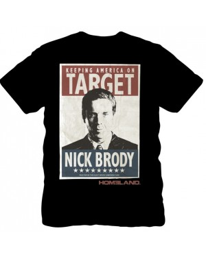 Nick Brody Homeland Poster T-Shirt