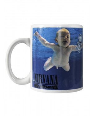 Nirvana Nevermind Coffee Mug
