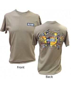 Old Bay Ripped Crab T-Shirt