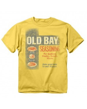 Old Bay Washed Can Art T-Shirt