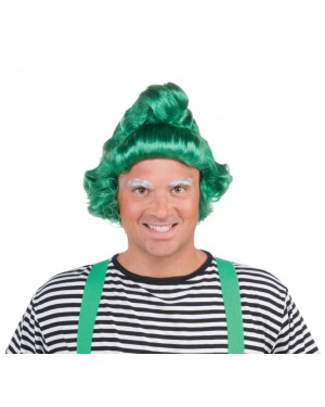 Oompa Loompa Willy Wonka Adult Wig