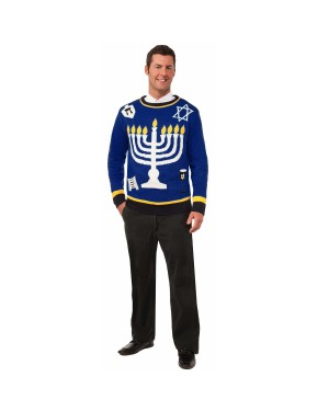 Outrageous Chanukah Ugly Christmas Sweater