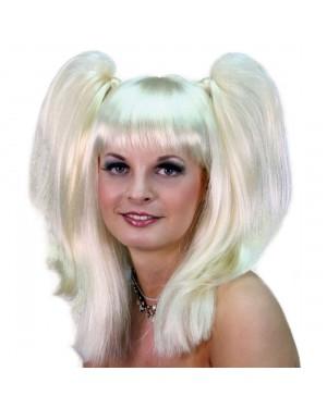 Blonde Pigtails Wig