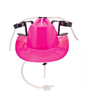 Pink Cowboy Drinking Hat