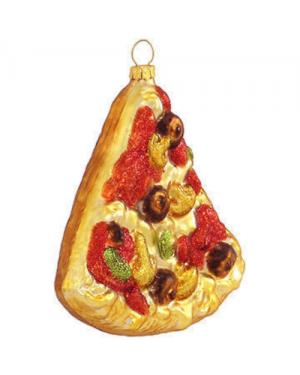 Pizza Slice Christmas Tree Ornament