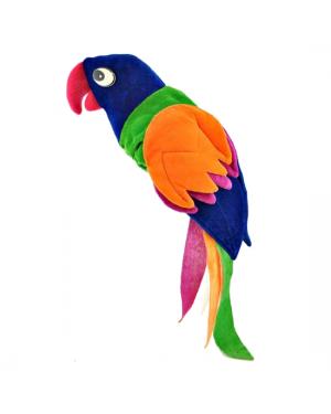 Plush Parrot Hat
