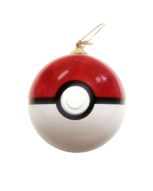 Pokéball Christmas Tree Ornament